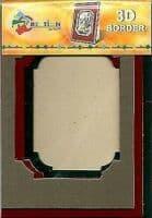 Creation By TBZ Card Making Decoupage 3D Border Mount 521143